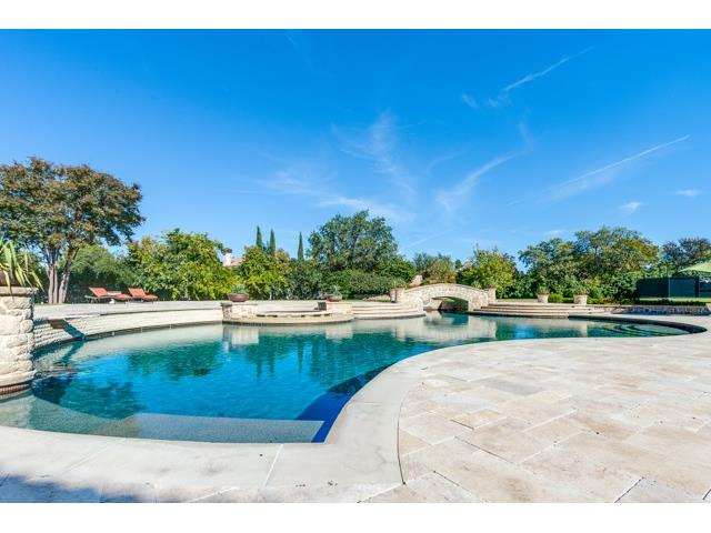 3620 Ranchero pool & bridge