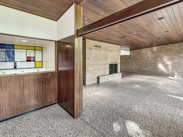 3860 Bellaire bar with Mondrian