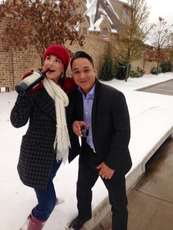 Carrie Hill and Thomas Zepeda Snow