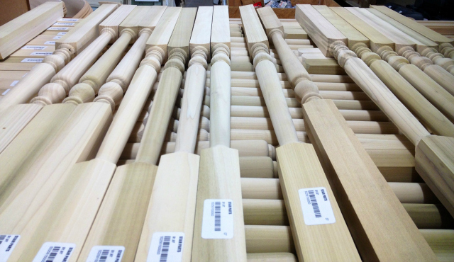 Habitat for Humanity ReStore spindles