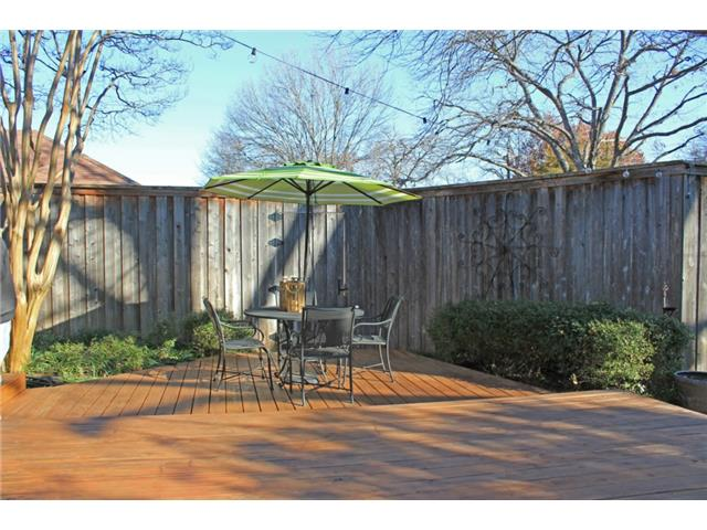 Multi-LevelBack Yard Deck
