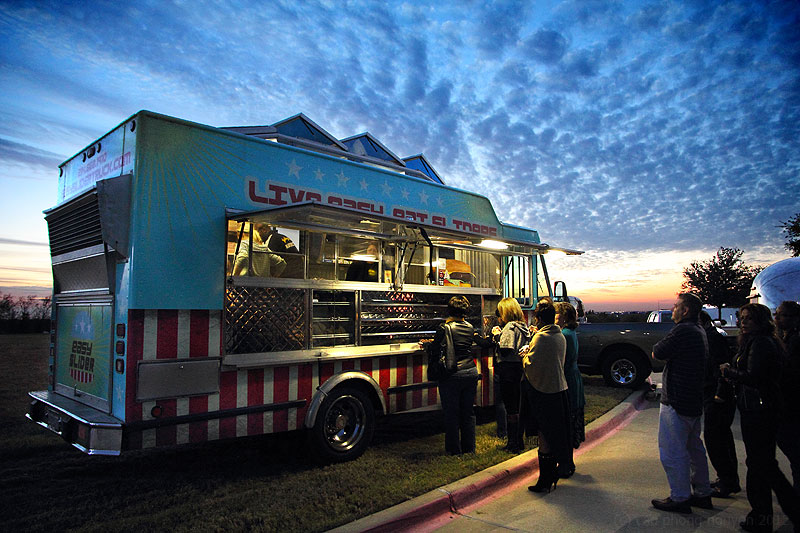 Easy Slider Food Truck is one of the vendors interested in the proposed Plano food truck park. Photo: Miley Holmes