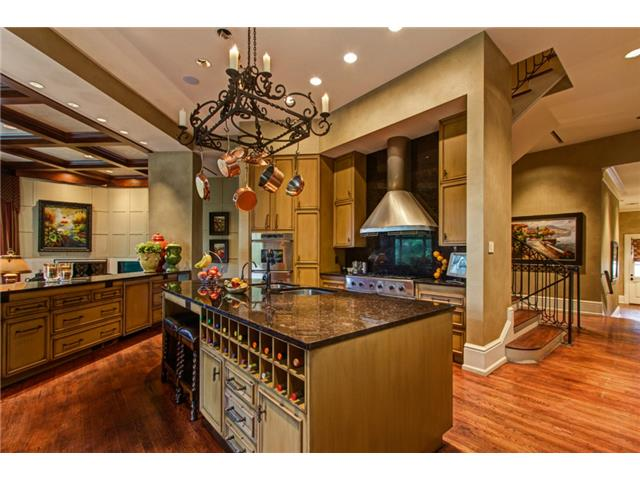 The Main Kitchen itself is a Work of Art!  The Room's Focal Poin