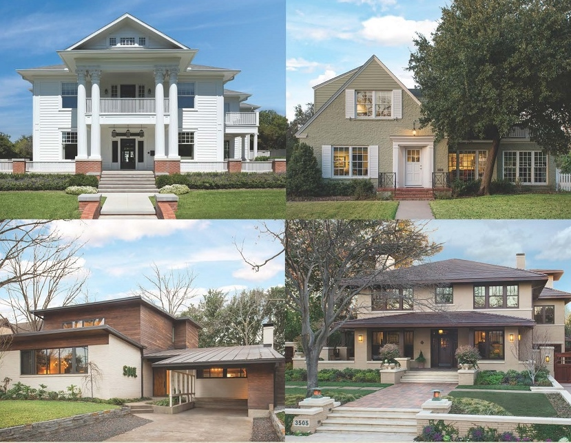The Park Cities Historic and Preservation Society Home Tour will feature a mix of architectural styles.