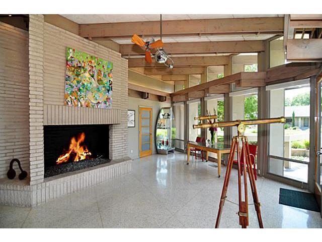9729 Van Dyke Fireplace