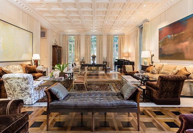 Hicks Main House- Living Room- Facing South