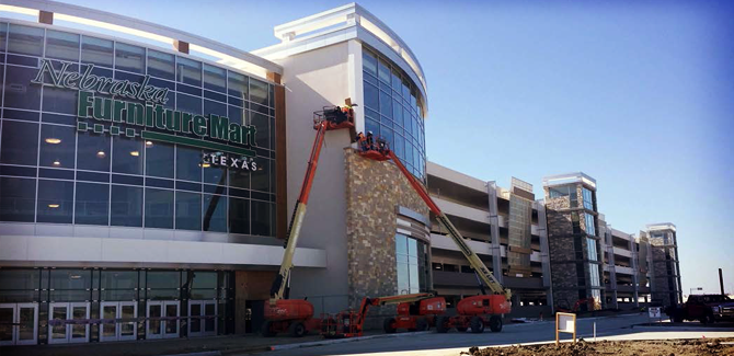 Nebraska Furniture Mart is almost ready to open, so we're making our wish lists!