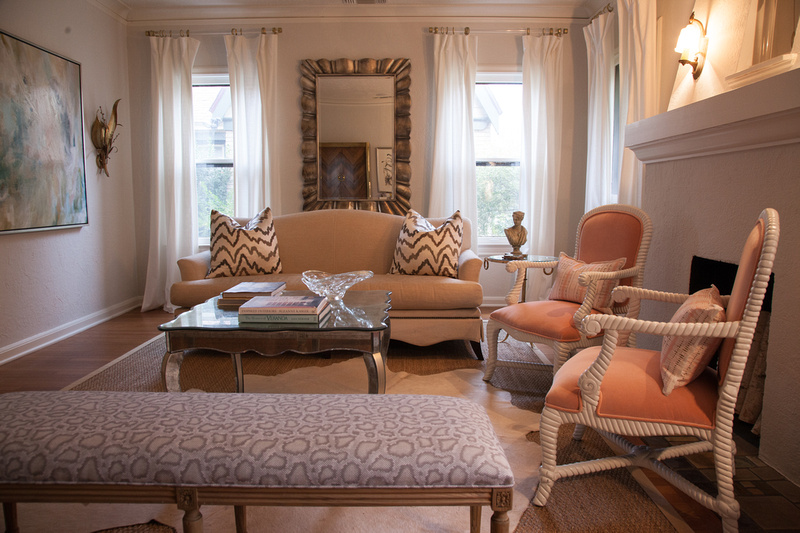 Emily Larkin enjoys mixing styles and periods in her designs, and loves unique chairs. (Photo: Kim Leeson)
