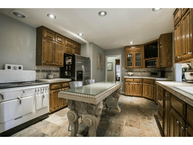 There is ample storage in this kitchen and the star is the compl