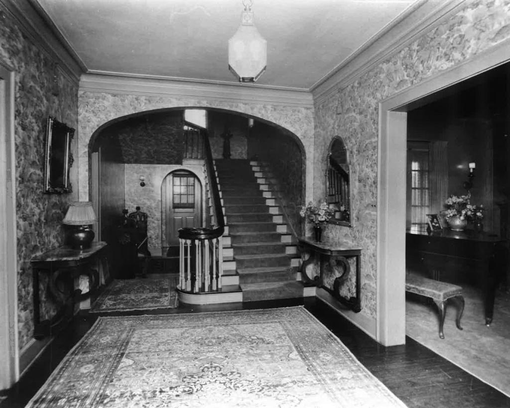 Carrie Marcus House Foyer