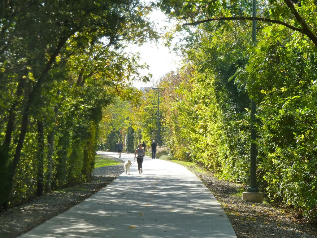 "Dallas' Katy Trail received a ""Best Public Place"" award from the Urban Land Institute."