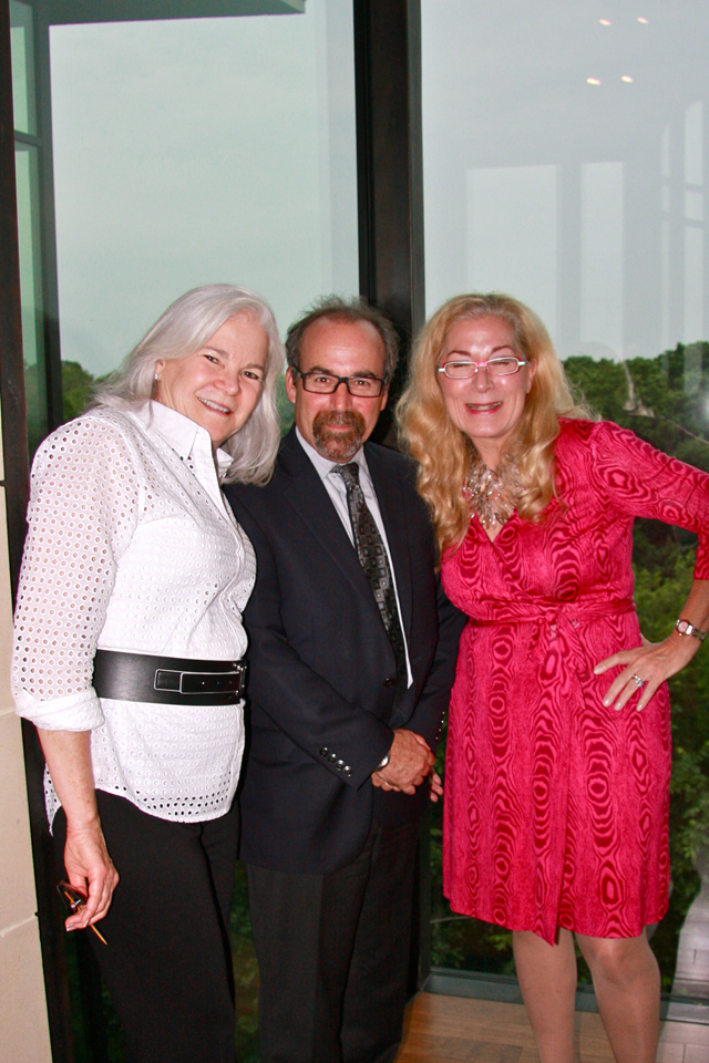 Architects Patricia Magadini and Bruce Bernbaum with Candy