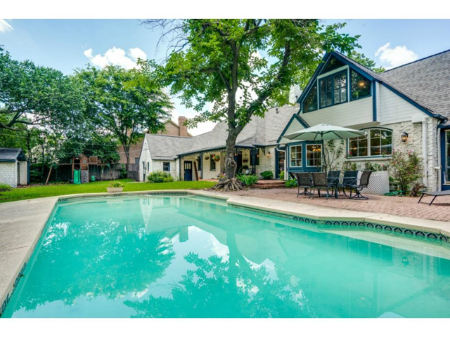6426 Meadow Pool and Backyard