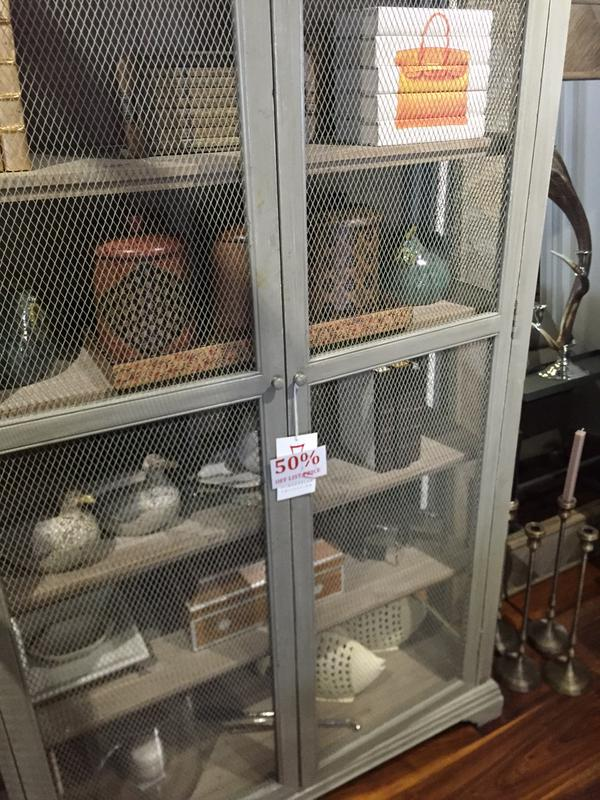 This beautiful cabinet is 50 percent off at the Bernadette Schaeffler Collection!