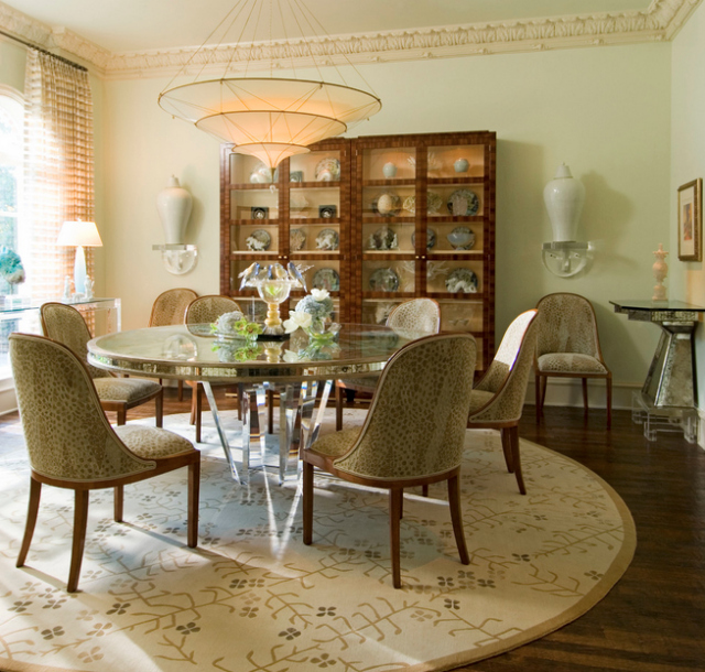 Meadowood Estate dining room