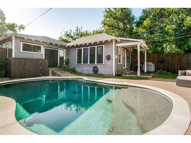 114 N. Edgefield Pool and back of house