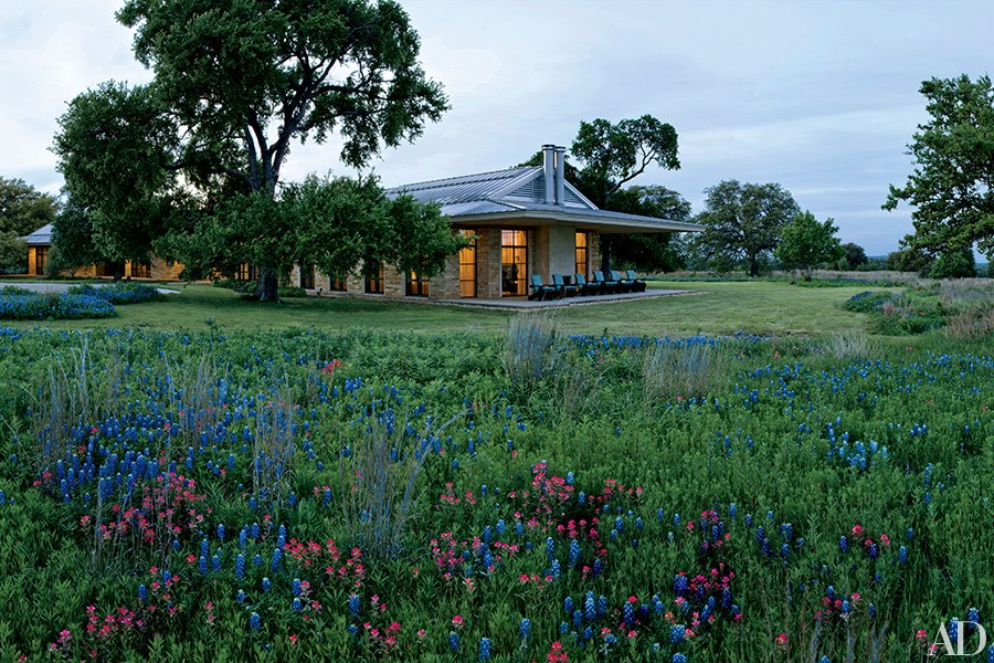 David Heymann, FAIA, designed George W. Bush's Crawford, TX, retreat. (Photo: Architectural Digest)