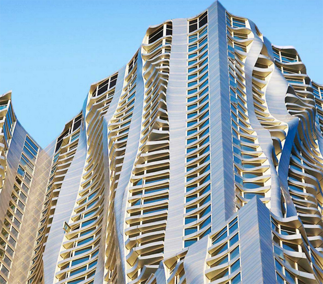 Frank Gehry High-Rise in New York City