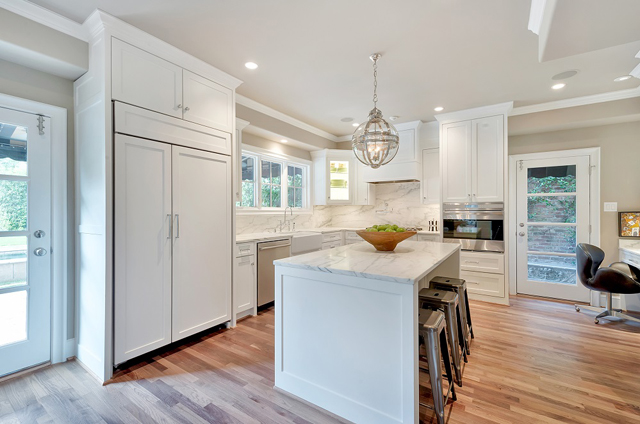 """LRO Residential's custom kitchen on Avondale  was recognized as the """"Best Kitchen Remodel"""" in the $50,000 to $75,000 range."""