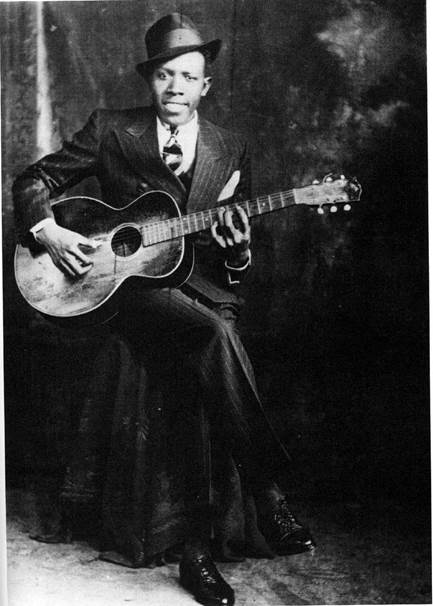 Blues legend Robert Johnson whose final recordings were at Encore Parrk's 508 Park. Photo: Encore Park