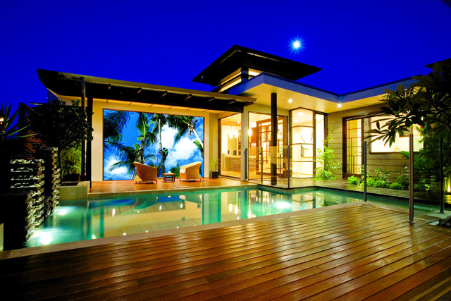 "Stellar Home Theater & Beyond won in the ""Best Outdoor Living Space"" category."