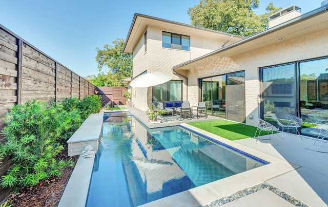 "Classic Urban Homes' ""Kaywood"" project took home the ""Best Swimming Pool"" award."