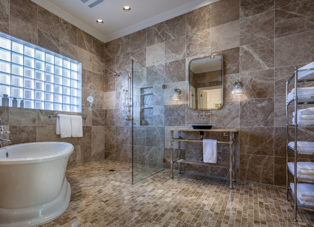 "Key Residential won the award for ""Best Bathroom Remodel"" in the $75,000-plus range."