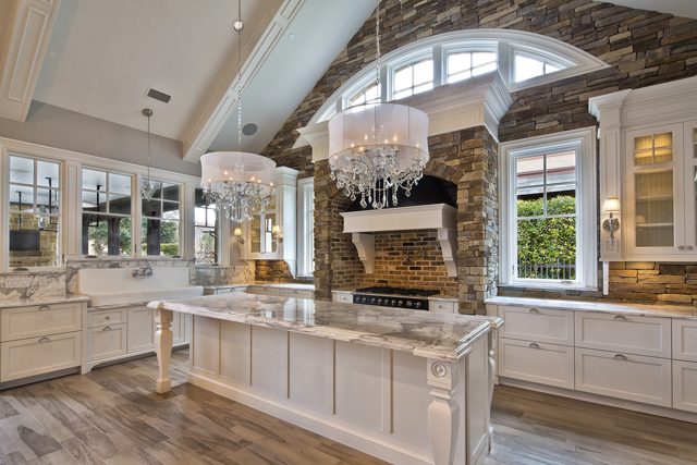 "Veranda Designer Homes' glamorous kitchen at Cedar Elm Terrace won ""Best Kitchen"" in the $1 to $1.5 million range."