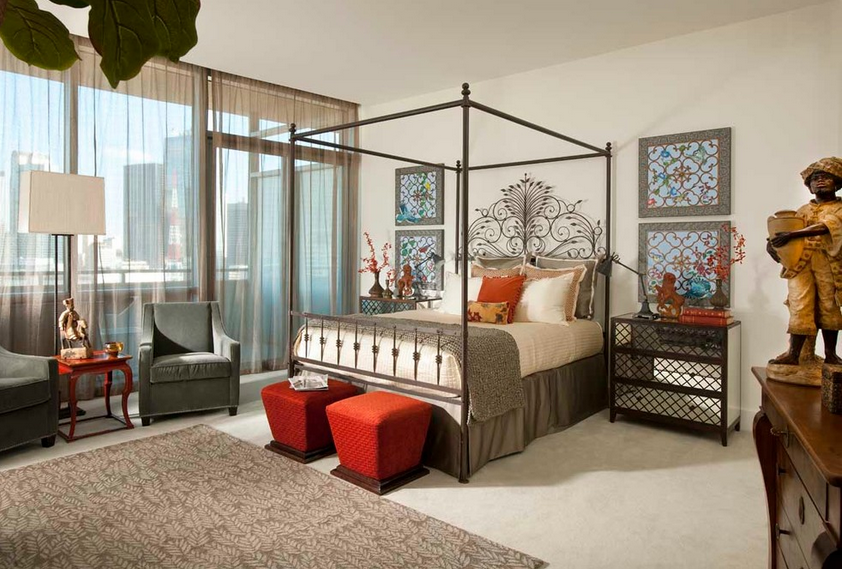 Margaret Chambers downtown dallas highrise bedroom