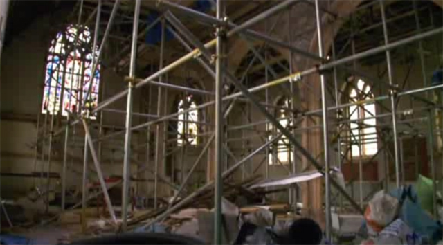 Abandoned Church Interior