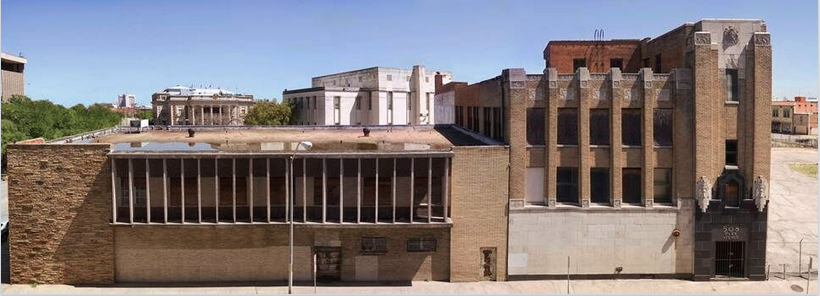 The 508 Park building before renovations began. It had been vandalized and abandoned for 20 years. Photo: Alan Govenar