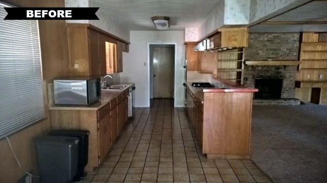 6229 N Jim Miller Rd kitchen BEFORE