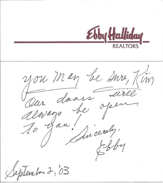 Ebby note