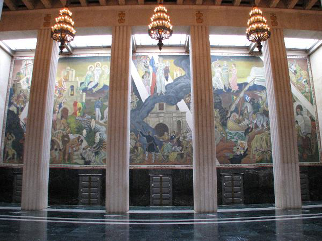 Hall of State Mural 2