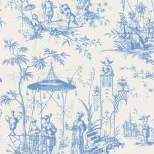 LIKE IT TO SAVE TO YOUR PROFILE From housetohome.co.uk > Chinoiserie Toile fabric in Blue from Elanbach - housetohome.co.uk