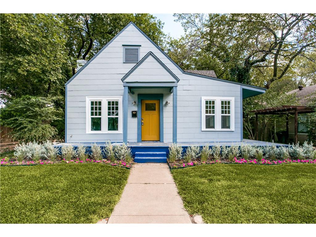 Blue Home Oak Cliff