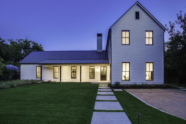 This modern interpretation of a farmhouse by Todd Hamilton will be on the AIA Dallas Tour of Homes Nov. 14-15.