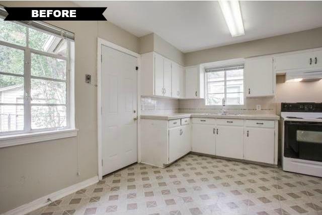 561 Classen kitchen before
