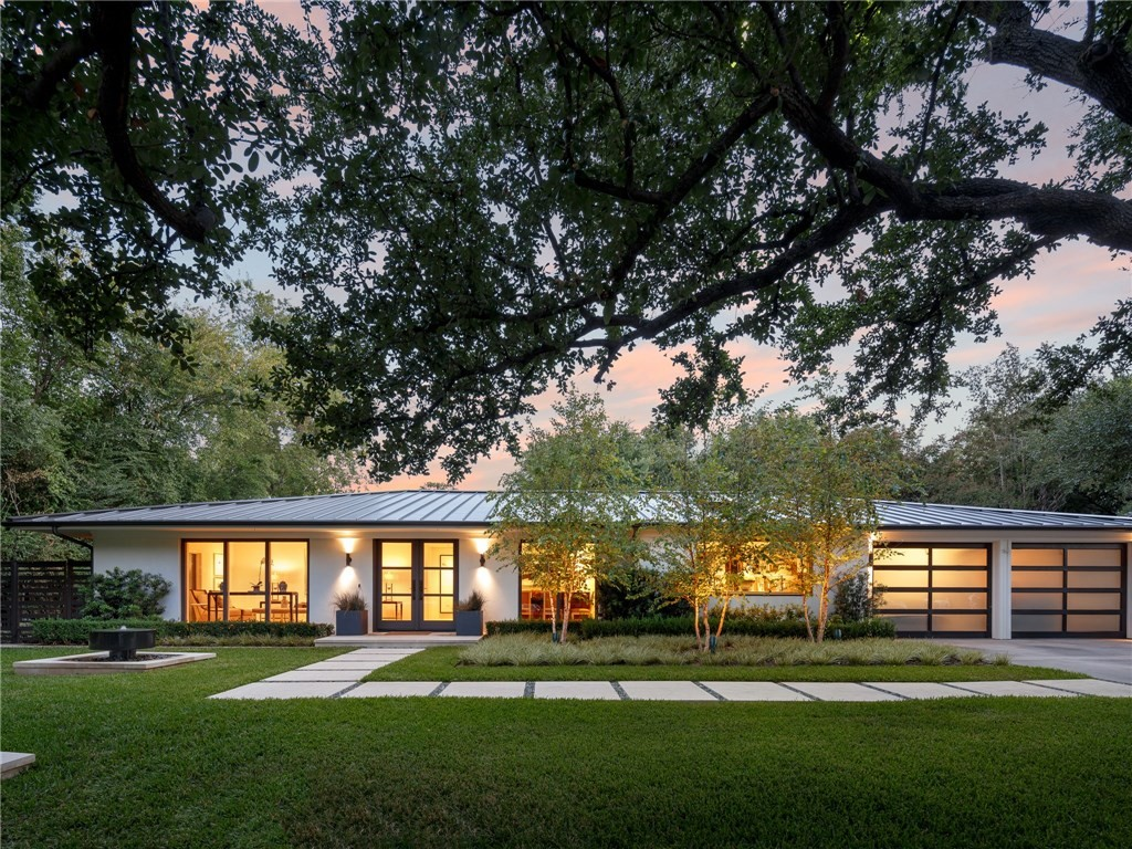 Dallas mid century modern archives for Mid century modern ranch house plans