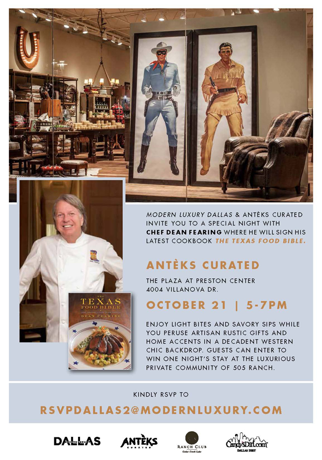 Anteks Curated Hosts Dean Fearing