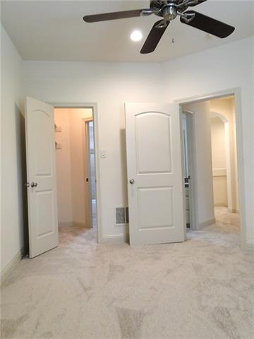 One small room; five doorways!
