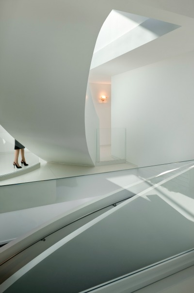 Twist Residence staircase by Randy Brown Architects. Photo courtesy of Randy Brown.