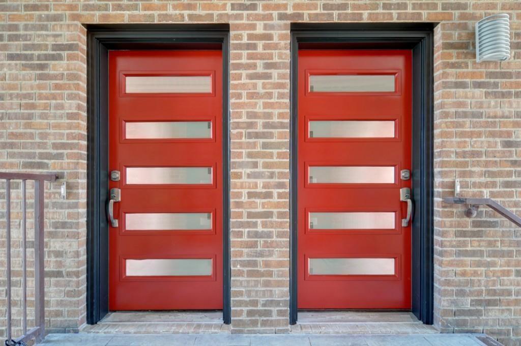 May Street doors