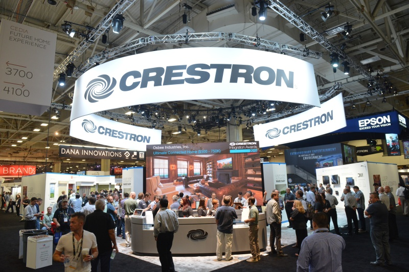 Crestron Home Automation Booth