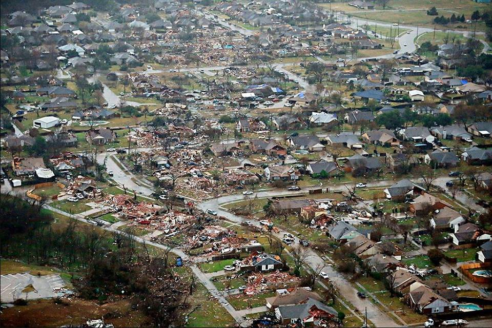 North Texas communities were ravaged by EF-4 and EF-3 tornadoes on Saturday, Dec. 26.(Photo: GJ McCarthy)