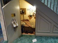 storm shelter under staircase