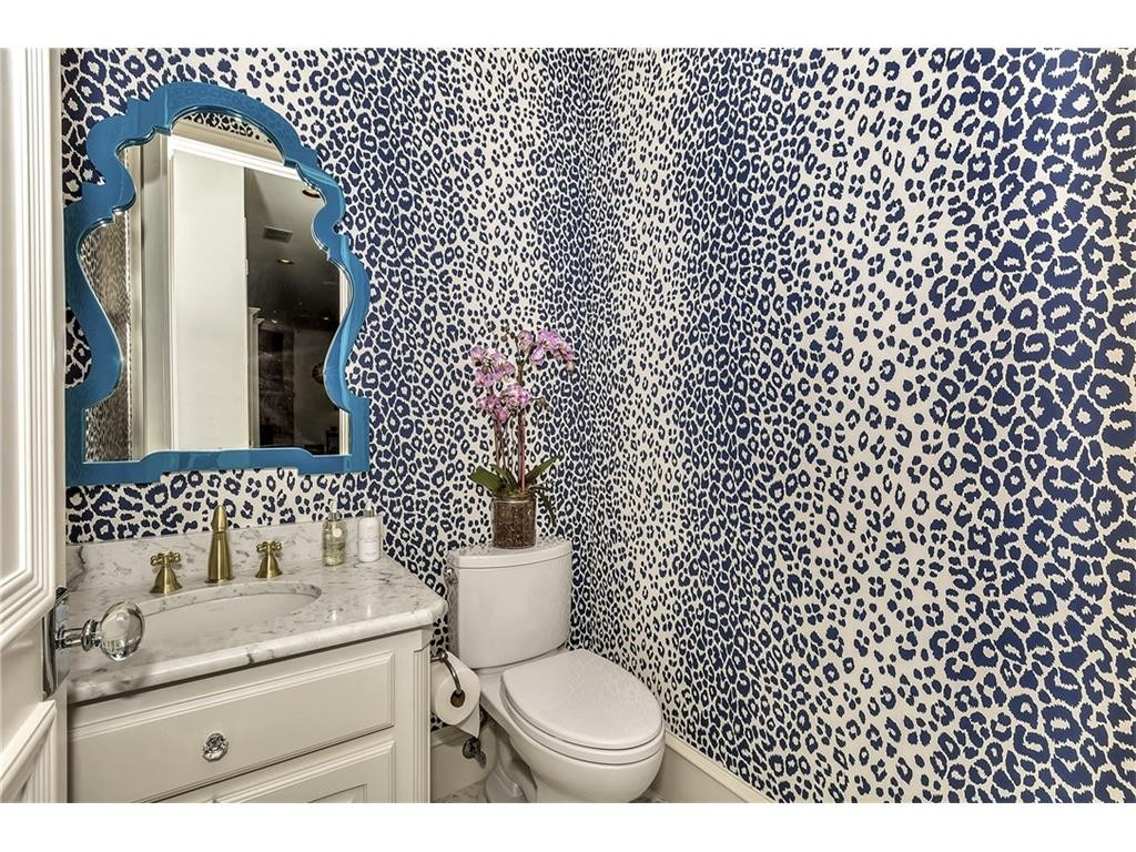 5504 Burkett Half Bath 2