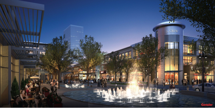 A rendering of the Legacy West development in Plano, a 240-acre mixed-use project, is under development on the southwest corner of the Dallas North Tollway and State Highway 121. Photo: Gensler