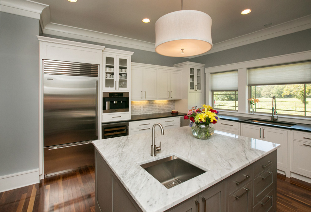 Kitchen designed by Kori Shurley of the Kitchen & Bath Cottage