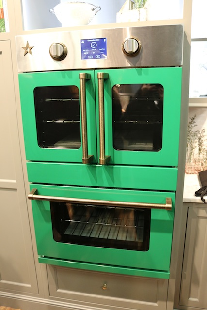 Blue Star Wall Oven at AD Show (Photo: Lisa Stewart Photography)